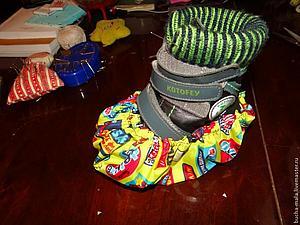 Шьем практичные слингобахилы для деток. Ярмарка Мастеров - ручная работа, handmade.