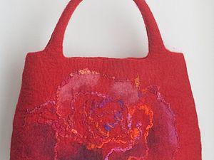 18 марта. МК по сумке из кардочеса с фантазийным рисунком | Ярмарка Мастеров - ручная работа, handmade