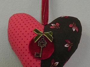 Как сделать текстильное сердечко