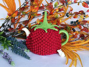 Грелка для чайника «Малиновый вкус»