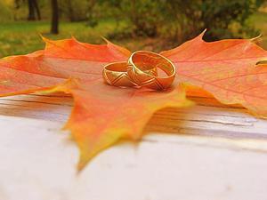 Свадьба. Очарование осени...   Ярмарка Мастеров - ручная работа, handmade