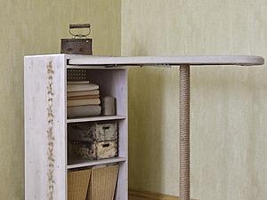 Метаморфоза гладильной доски, или Новый образ такого нужного аксессуара. Ярмарка Мастеров - ручная работа, handmade.
