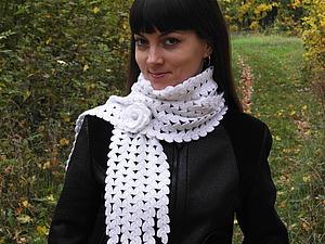 Конфетка - шарф! | Ярмарка Мастеров - ручная работа, handmade