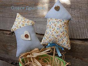 Простые идеи для Пасхи. Часть третья: шьем домики в стиле Тильда. Ярмарка Мастеров - ручная работа, handmade.