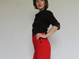 Мастер-класс по шитью брюк в стиле «Марлен». Ярмарка Мастеров - ручная работа, handmade.