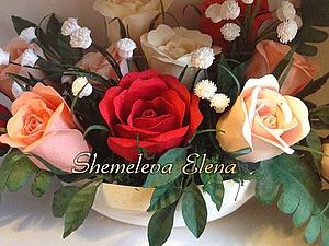 Делаем «миниатюрные розы» в технике квиллинга. Ярмарка Мастеров - ручная работа, handmade.