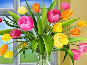 Поздравляю с Праздником 8 Марта! | Ярмарка Мастеров - ручная работа, handmade