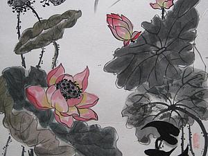 Гохуа на Неве. Китайская живопись нашими глазами. | Ярмарка Мастеров - ручная работа, handmade