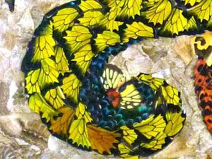 В Самаре проходит выставка картин из крыльев бабочек | Ярмарка Мастеров - ручная работа, handmade
