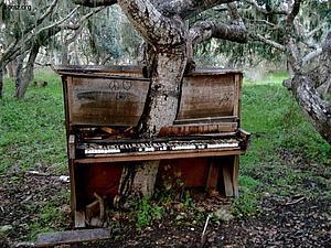 Метаморфозы старого пианино | Ярмарка Мастеров - ручная работа, handmade