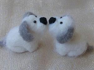 Очаровательные собачки | Ярмарка Мастеров - ручная работа, handmade