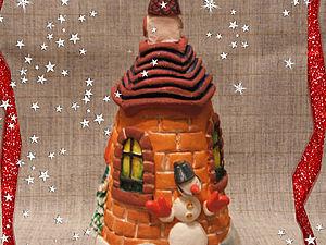Делаем сказочный домик из соленого теста. Ярмарка Мастеров - ручная работа, handmade.