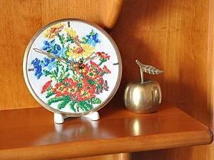 Мастер-класс: Часы со старинной вышивкой. Ярмарка Мастеров - ручная работа, handmade.