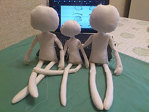 Как сделать куклу своими руками. Ярмарка Мастеров - ручная работа, handmade.