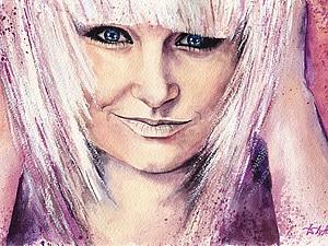 Процесс рисования. Портрет девушки. Ярмарка Мастеров - ручная работа, handmade.