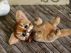 Мастер-класс по котенку с 1 по 10 ноября! | Ярмарка Мастеров - ручная работа, handmade