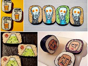 Оригинальный суши-арт | Ярмарка Мастеров - ручная работа, handmade