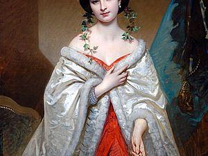 Загадочное слово «sortie-de-bal», или О прекрасной принадлежности бального наряда. Ярмарка Мастеров - ручная работа, handmade.