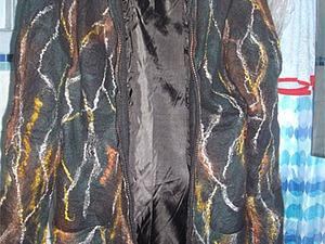 Мастер-класс: цельноваляное пальто на подкладке. Ярмарка Мастеров - ручная работа, handmade.