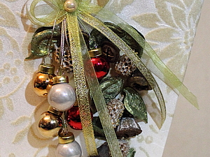 Украшаем новогоднюю подарочную упаковку | Ярмарка Мастеров - ручная работа, handmade