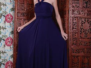 Длинное платье трансформер за 2100!!!!!   Ярмарка Мастеров - ручная работа, handmade