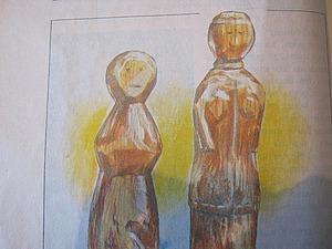 Из глубины веков. Кукла-панка - деревянная игрушка наших предков. Ярмарка Мастеров - ручная работа, handmade.