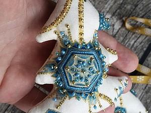 РАСПРОДАЖА! -20% на новогодние гирлянды из флажков и ёлочные игрушки | Ярмарка Мастеров - ручная работа, handmade