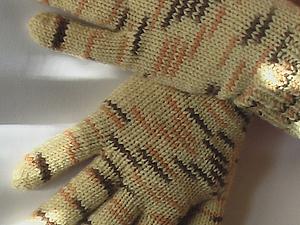 Перчатки (видео урок). Ярмарка Мастеров - ручная работа, handmade.