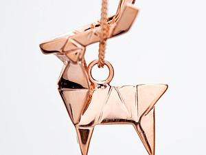 Необычные украшения-оригами от ювелирной студии Claire & Arnaud. Ярмарка Мастеров - ручная работа, handmade.