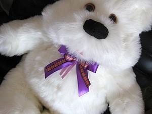 Аукцион!!! Белый мишка   Ярмарка Мастеров - ручная работа, handmade