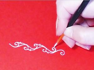 Как нарисовать орнамент, видео, часть 1. Ярмарка Мастеров - ручная работа, handmade.