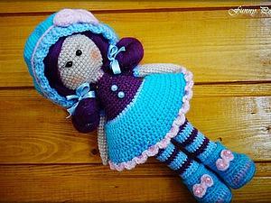 Вяжем куколку Софи крючком. Ярмарка Мастеров - ручная работа, handmade.