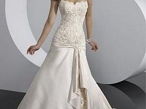 Идеальное кружевное свадебное платье   Ярмарка Мастеров - ручная работа, handmade