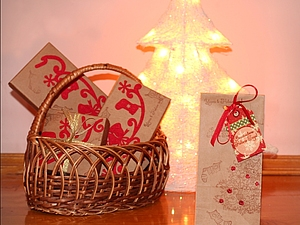 Подарок-сюрприз к Новому Году и Рождеству | Ярмарка Мастеров - ручная работа, handmade