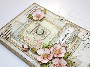 Как сделать нежную открытку «С любовью!». Ярмарка Мастеров - ручная работа, handmade.