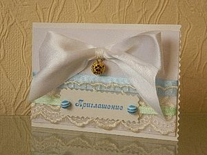 Звонкое приглашение | Ярмарка Мастеров - ручная работа, handmade