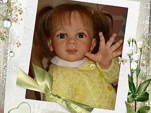Малышка Олеся-2. Куклы реборн Инны Богдановой. | Ярмарка Мастеров - ручная работа, handmade