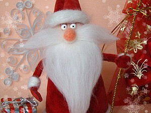 Здравствуй, Дедушка Мороз!. Ярмарка Мастеров - ручная работа, handmade.