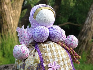 Мастер-класс по созданию куклы «Кубышка-Травница» | Ярмарка Мастеров - ручная работа, handmade