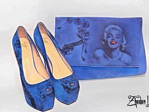 Татуированная обувь   Ярмарка Мастеров - ручная работа, handmade