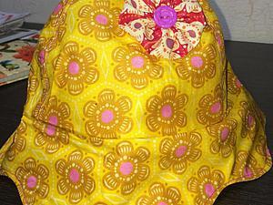 Шьем летнюю панамку для ребенка. Ярмарка Мастеров - ручная работа, handmade.