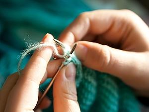 Бывает и такое: аллергия на металлические спицы для вязания. Ярмарка Мастеров - ручная работа, handmade.