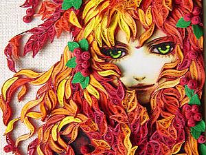 Квилинг-шедевры Евгении Евсеевой | Ярмарка Мастеров - ручная работа, handmade
