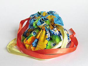 Мастерим мешочек для украшений. Ярмарка Мастеров - ручная работа, handmade.
