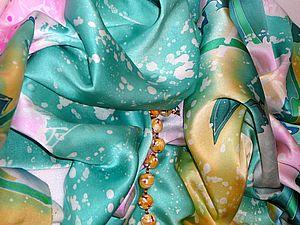 Как ухаживать за изделиями из натурального шелка расписанного вручную. | Ярмарка Мастеров - ручная работа, handmade