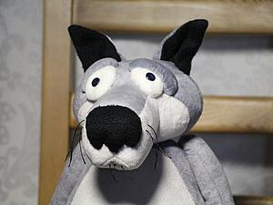 Шьем волка по мотивам мультфильма «Жил был пёс». Ярмарка Мастеров - ручная работа, handmade.