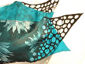 МК шарф-палантин из префельта ( 11 июля, Москва). | Ярмарка Мастеров - ручная работа, handmade