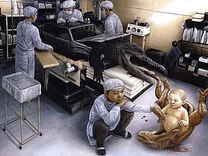 Сон разума рождает чудовищ: странные и страшные картины современных художников (18+) | Ярмарка Мастеров - ручная работа, handmade