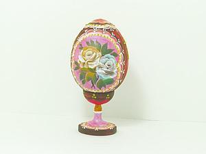 Видео мастер-класс: роспись пасхального яйца. Ярмарка Мастеров - ручная работа, handmade.