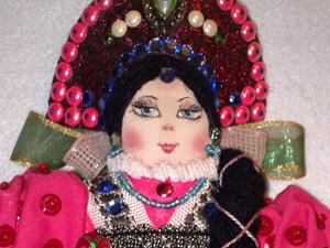 Русское Рождество и кукла Марфа   Ярмарка Мастеров - ручная работа, handmade
